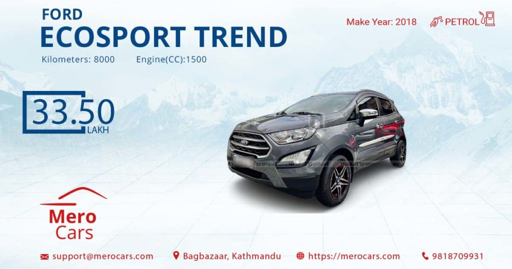 03 Ford Ecosport Trend