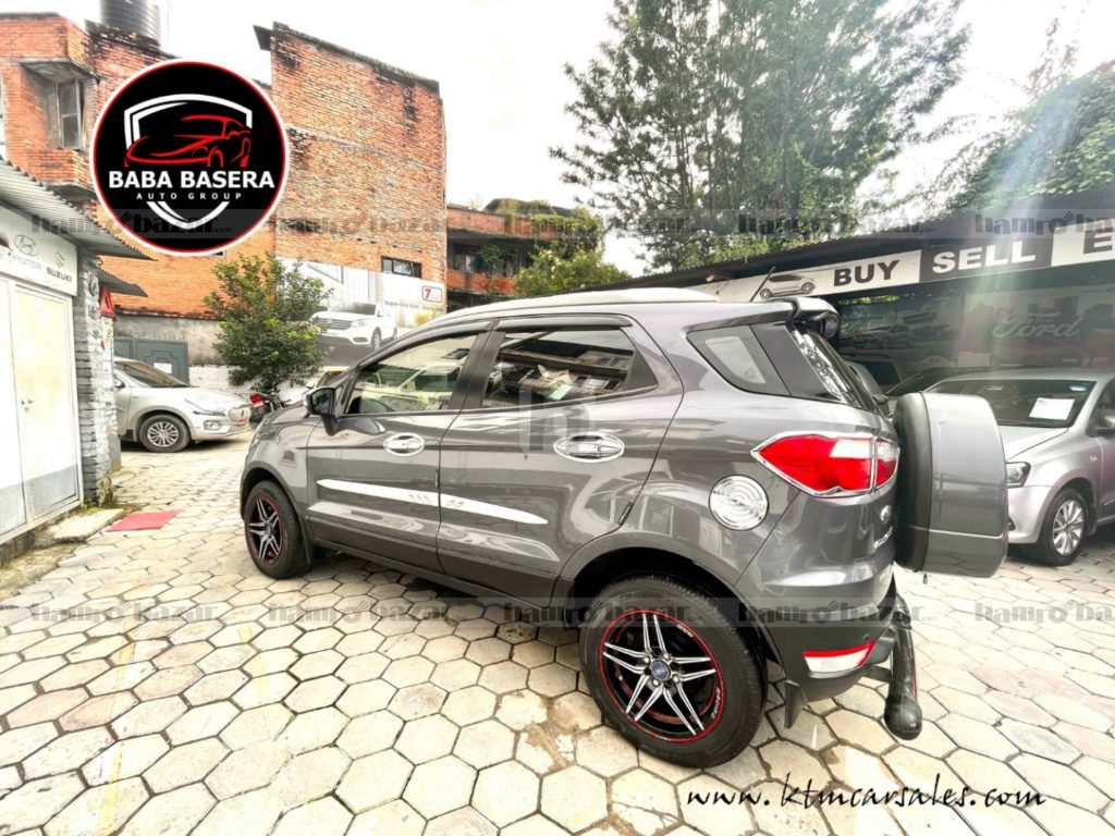 Ford Ecosport 8000km Run Full Option New New Condition (1)