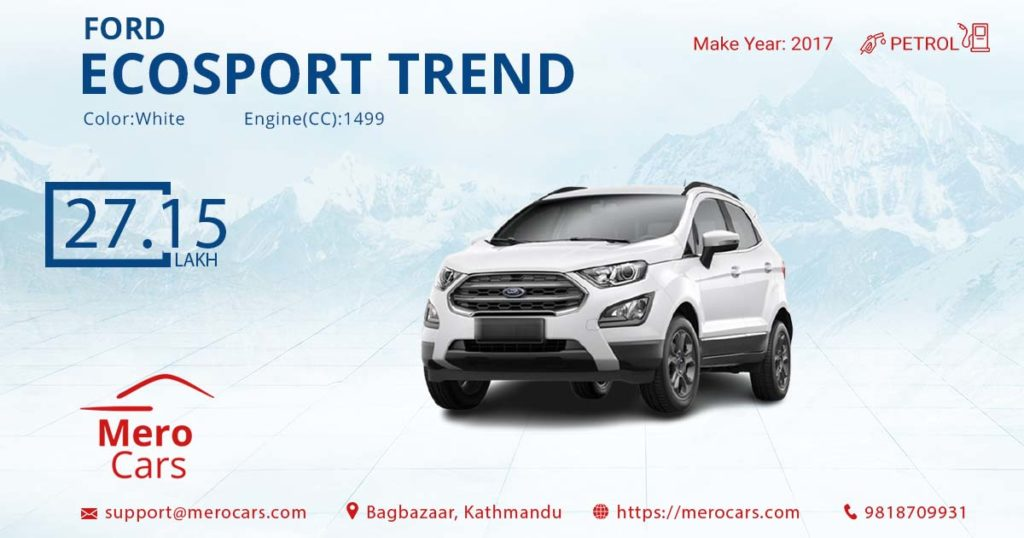 01Ford Ecosport Trend